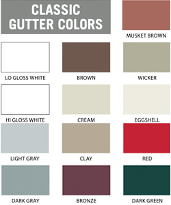 Gutter Color Card