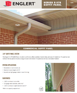 Series E-375 Soffit Panel